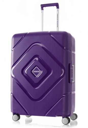 American Tourister purple American Tourister Trigard Spinner 66/24 TSA CE4C1ACF1A6EB4GS_1