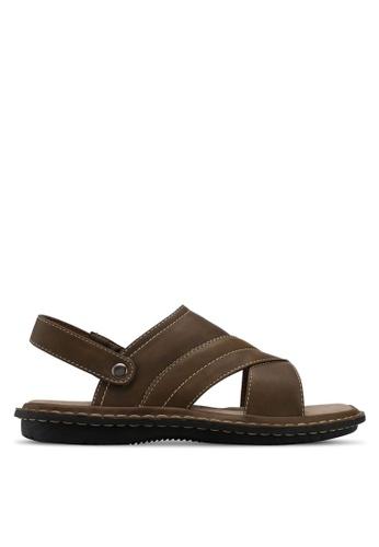 Bata brown Bata Men Sandals F9BEBSH2F69F6CGS_1