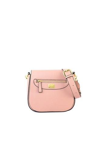 RENOMA Paris pink Renoma Ladies Flap-over Sling Bag 1905087-00 A1F81AC2A8E780GS_1