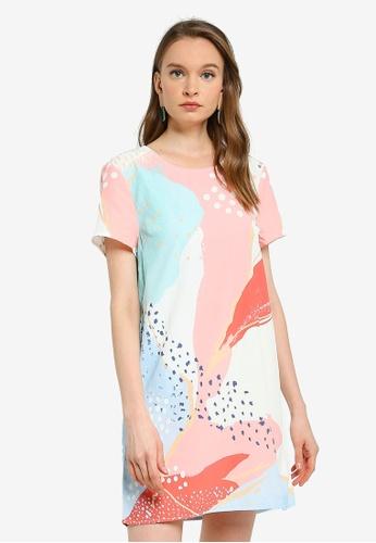 Mink Pink multi Calm Bliss Tee Dress 40D5FAAB18855CGS_1