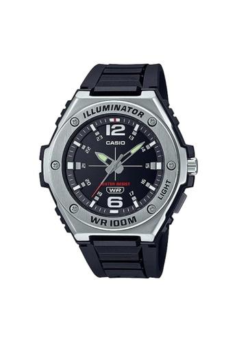 Casio black CASIO GENERAL MWA-100H-1AVDF MEN'S WATCH ED4A5AC8586AB7GS_1