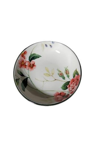 "Claytan Priscilla W Banding - 4"" Round dish A8BE4HL1512AD1GS_1"