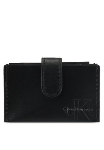 Calvin Klein black Accordion Cardcase - Calvin Klein Accessories 4CAAEAC9E066F9GS_1