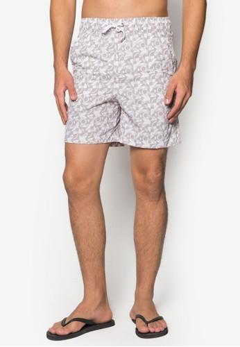 幾何印花esprit分店沙灘褲, 服飾, 泳褲及沙灘造型