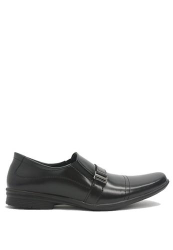 Dr. Kevin black Dr. Kevin Men Dress & Bussiness Formal Shoes 13202 - Black DR982SH0U5ZWID_1