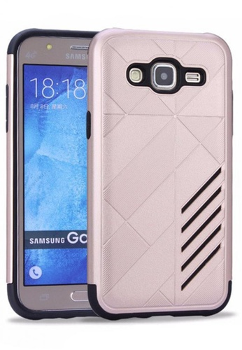 buy online f55d2 c691c Ultra Thin Shockproof Protective Hybrid TPU Cover Case for Samsung Galaxy  J2 Prime