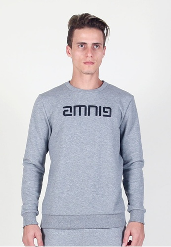 AMNIG grey Energy Sweashirt 2B829AA3021080GS_1