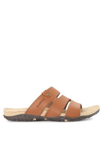 Homyped brown Yoga 02 Men Sandals HO842SH0VNJBID_1