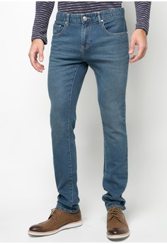 Basic Five Pocket Jeans