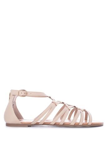 Alberto beige Sandals Flats AL375SH82ZQFPH_1