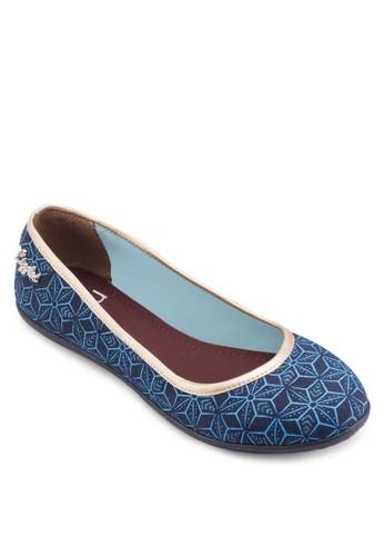 Kyra 印花平底鞋, 女鞋, esprit outlet hong kong鞋