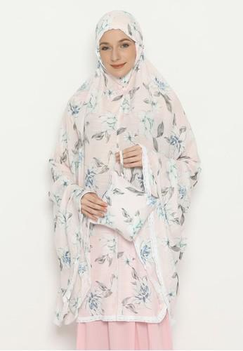 duapola pink duapola Mukena Premium Cotton 3B17CAAC5D1FF7GS_1