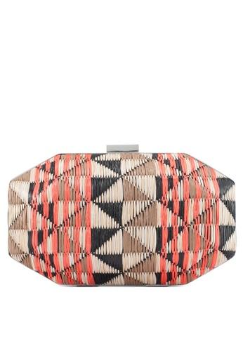 Vero Moda black Sanni Hardbox Clutch Bag 24F6DAC98E3852GS_1