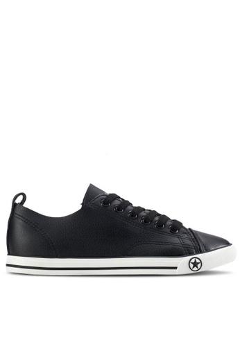 Twenty Eight Shoes 黑色 透氣休閑鞋 6880 TW446SH76BKTHK_1