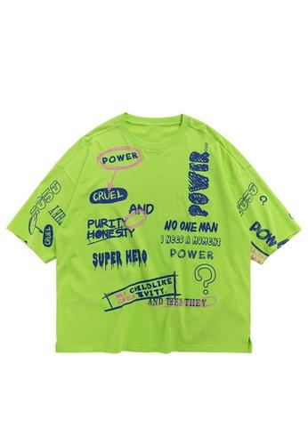 Twenty Eight Shoes Trend Printed Oversize T-shirt 1190S20 FEFC9AA2E19F95GS_1
