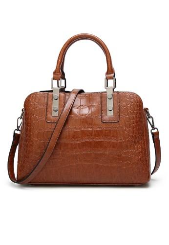 Lara brown Women Medium Top Handle Bag 4898AAC560BE4BGS_1