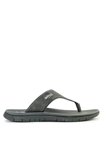 Watchout! Shoes black Sandals Thong 2139CSH817BBFBGS_1