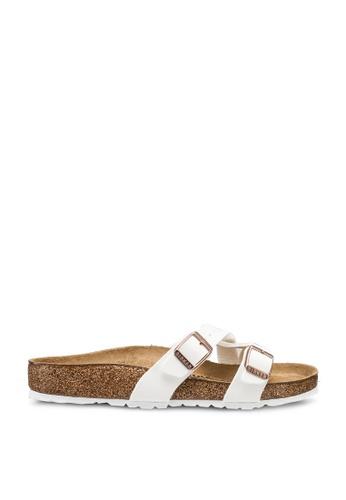 Birkenstock white Yao Birko-Flor Sandals E45FDSH1C94B61GS_1