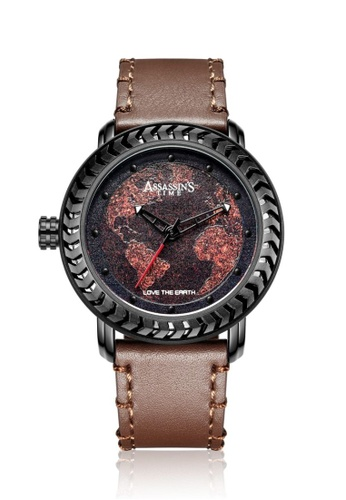 Assassin's Time brown Assassin's Time RUSTY Brown Leather 9A3F8ACA664833GS_1