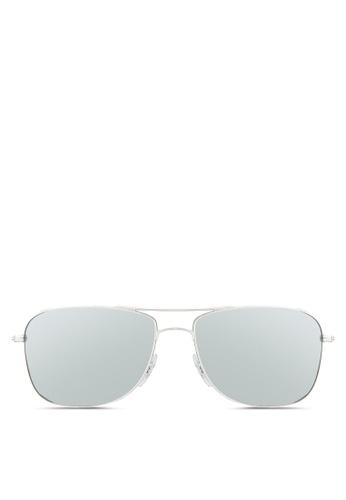 Ray-Ban silver RB3543 Chromance Sunglasses RA896GL70BCJMY_1