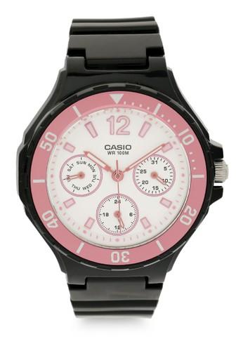 Casio black and pink Casio Women Digital LRW-250H-1A3VDF Black Pink 260E0AC6320AF3GS_1