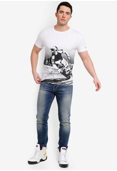 92501a48682d Calvin Klein Moto Racing Slim Short Sleeve Tee - Calvin Klein Jeans RM  309.00. Sizes S M L XL