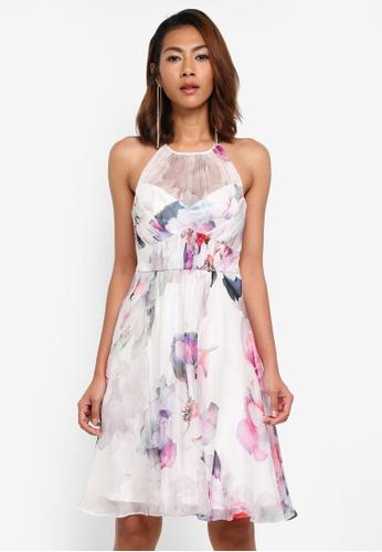 Forever New multi Joni Gathered Soft Prom Dress F2320AABB1F1BDGS_1