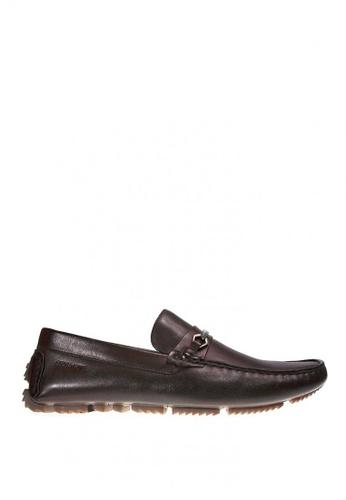 Sebago brown Scott Bit Loafers Shoes F4904SHF4E558CGS_1