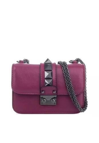 VALENTINO GARAVANI pink VALENTINO GARAVANI GLAM LOCK SHOULDER BAG C56DBACEB31A6FGS_1
