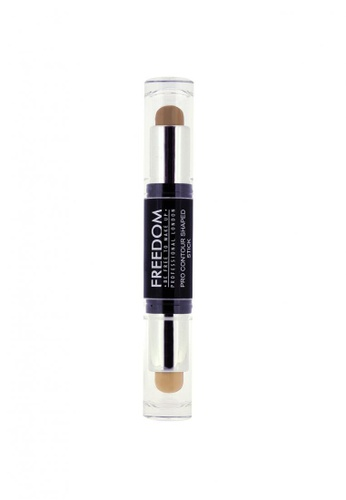 Freedom Makeup brown and beige Pro Contour Shaped Stick Medium 02 FR785BE08NVVSG_1