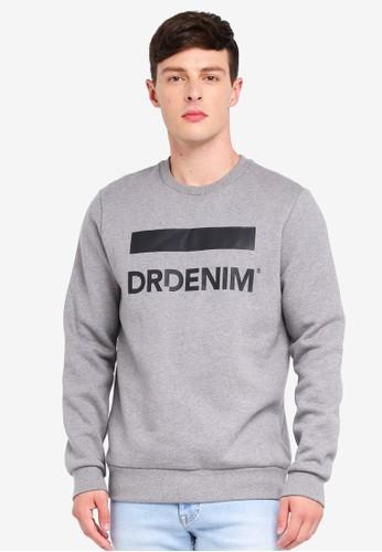 Dr Denim grey Adrian Sweater 7061CAA163E790GS_1