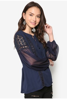 Lace Piecing Top