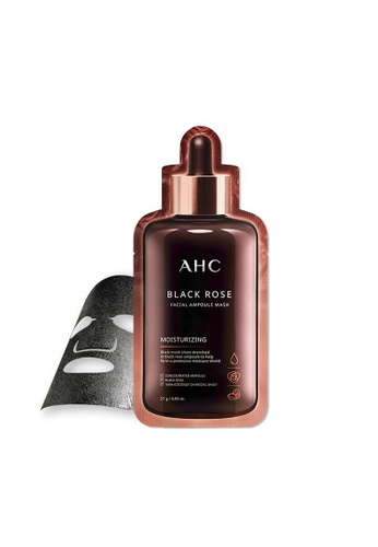 AHC AHC Black Rose Facial Ampoule Mask 27g*5ea (New BI) 4AE4FBE37651FDGS_1