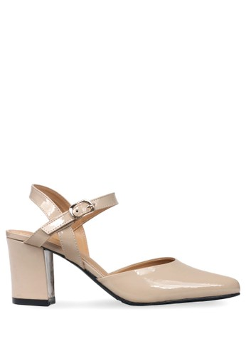 CLAYMORE beige Claymore sepatu high heels ED 011 Cream 3E2C2SHA551D53GS 1 e988e41f47