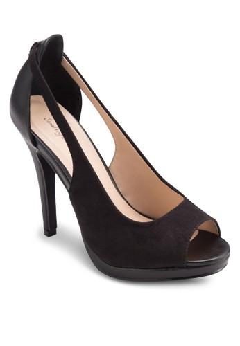 鏤空露趾高esprit童裝門市跟鞋, 女鞋, Dress To Impress