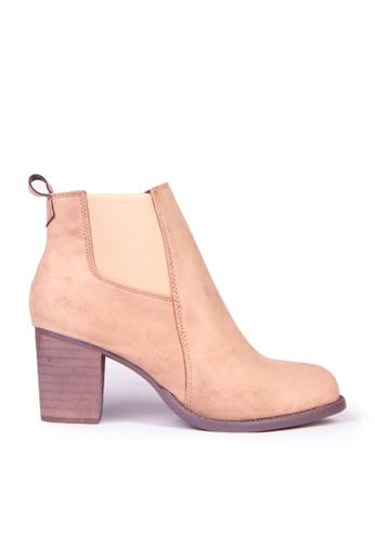 Sunnydaysweety beige Big Sale Item - Korean Classic High-heeled Ankleboots C12097BE 20493SHA17A3FBGS_1