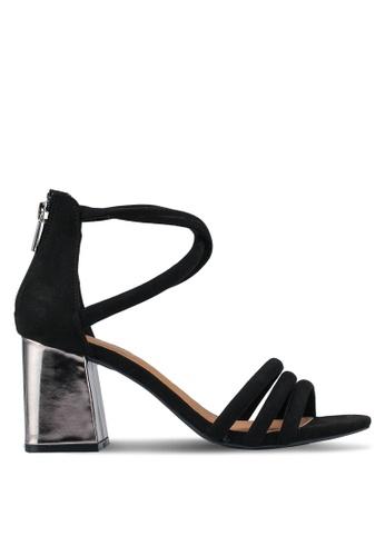 Rubi black Prague Tubed Heels ED113SHC9264BEGS_1
