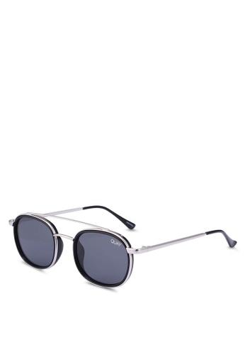 4132bd4bec Quay Australia silver GOT IT COVERED Sunglasses 4F519GLEFF8529GS 1