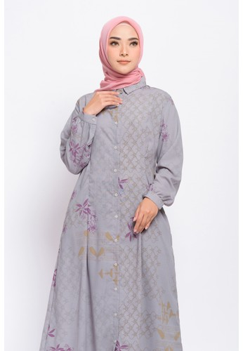 ZM ZM - Gemy Grey Dress Jelita Indonesia Edisi Palembang 41B8DAA456D25AGS_1