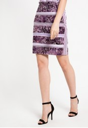 Bateeq purple Regular Cotton Cap Skirt BA656AA15DNSID_1