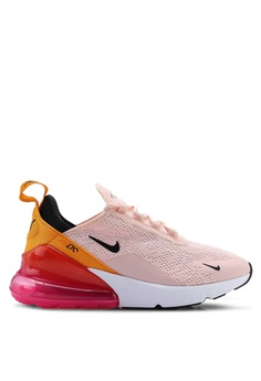 900ba2296e Nike pink and multi Nike Air Max 270 Shoes B182ASH248E0B1GS_1
