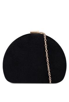 Dorothy Perkins black Black Half Moon Box Clutch E4F21AC7D96127GS 1 41319cbe706eb