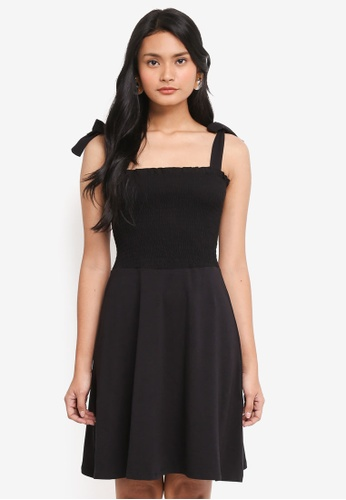 Dorothy Perkins black Black Sheered Sundress 899CAAAB06A356GS_1