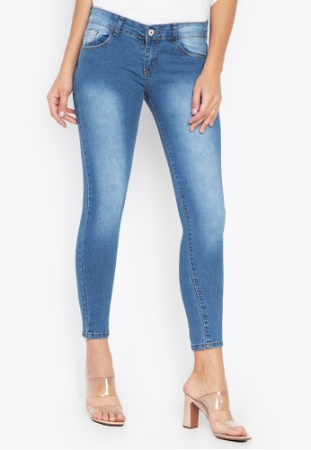CHILI PEPPER blue Low Rise Skinny Jeans 800E7AA1CF3A69GS_1