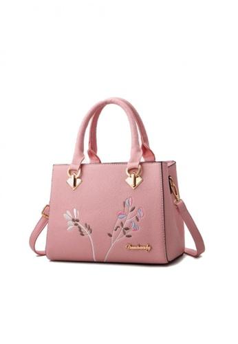 Lucky JX pink Deffy Hand Bag for Women 2CC88AC2486DE5GS_1