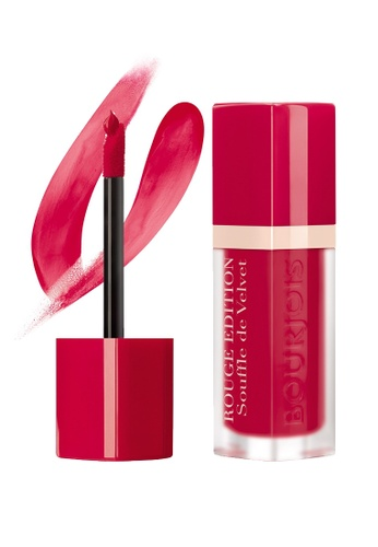 Bourjois red Bourjois Souffle de Velvet Lipstick #07 Plum Plum Pidou BO885BE69TXISG_1