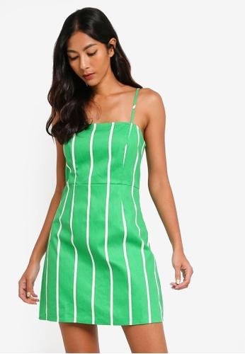Factorie green Waisted Slip Dress FC2DFAAD6E5001GS_1