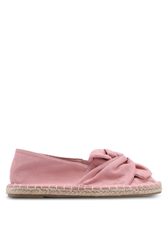 Dorothy Perkins pink Pink Carmel Knitted Espadrilles 2DD6ASH0F88324GS_1