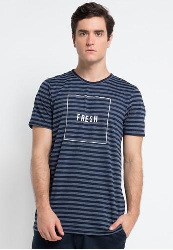 FAMO blue Men T-shirt 2012 FA263AA0VN80ID_1