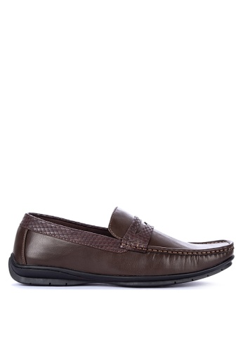 H2Ocean brown Natividad Loafers BD800SH799A0F7GS_1